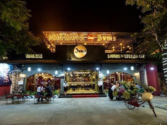 biển nhà hàng hải sản đẹp Hạ Long