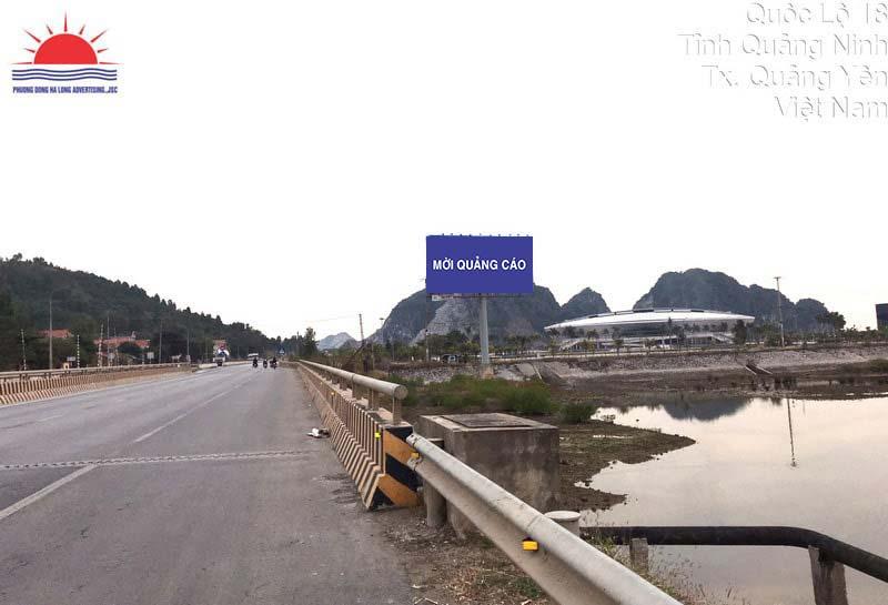 Vị trí biển quảng cáo tấm lớn tại nơi thi đấu SEA Games 31 ở Quảng Ninh