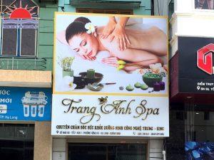 Làm biển quảng cáo Spa tại Hạ Long