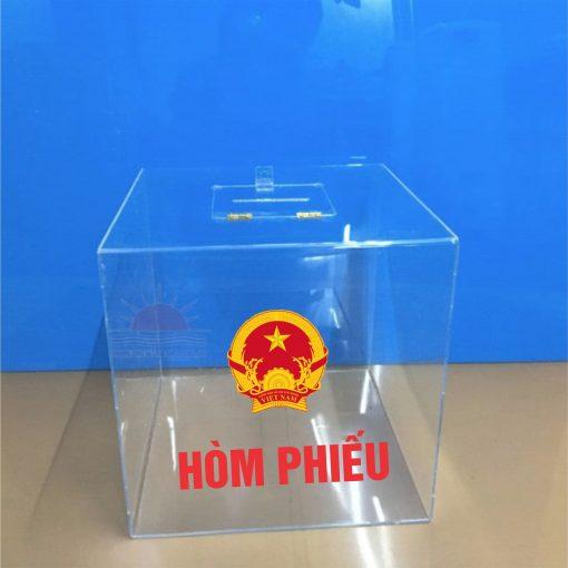Bán hòm phiếu bầu cửa tại Hạ Long