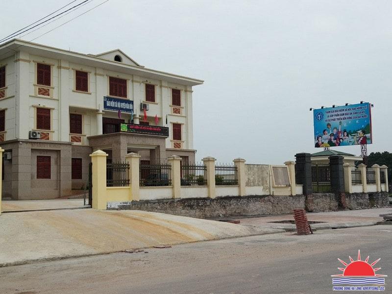 thi công biển quảng cáo ngoài trời tại Quảng Ninh
