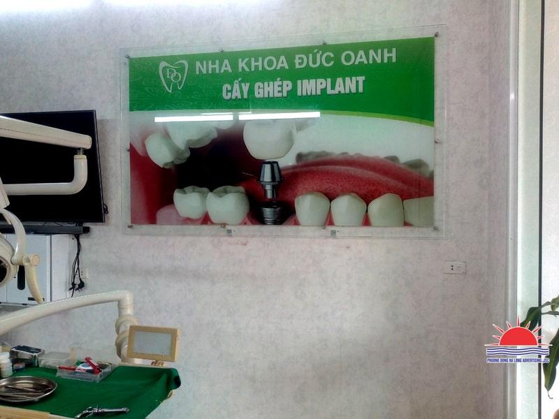 tranh trang trí trong phòng khám răng hàm mặt
