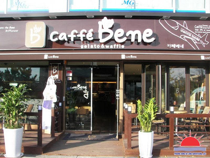 Mẫu bảng hiệu quảng cáo quán cafe