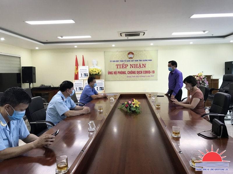 Chung tay ủng hộ quỹ phòng chống Covid-19 tỉnh Quảng Ninh