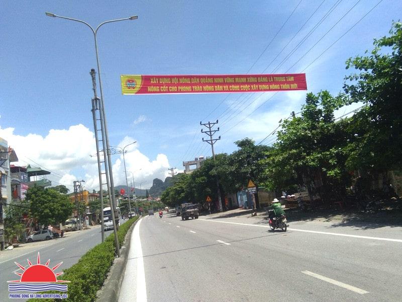 In băng rôn, phướn tuyên truyền tại Hạ Long, Quảng Ninh giá rẻ