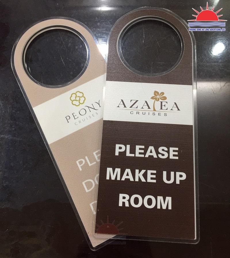 In thẻ tag treo phòng khách sạn tại Hạ Long