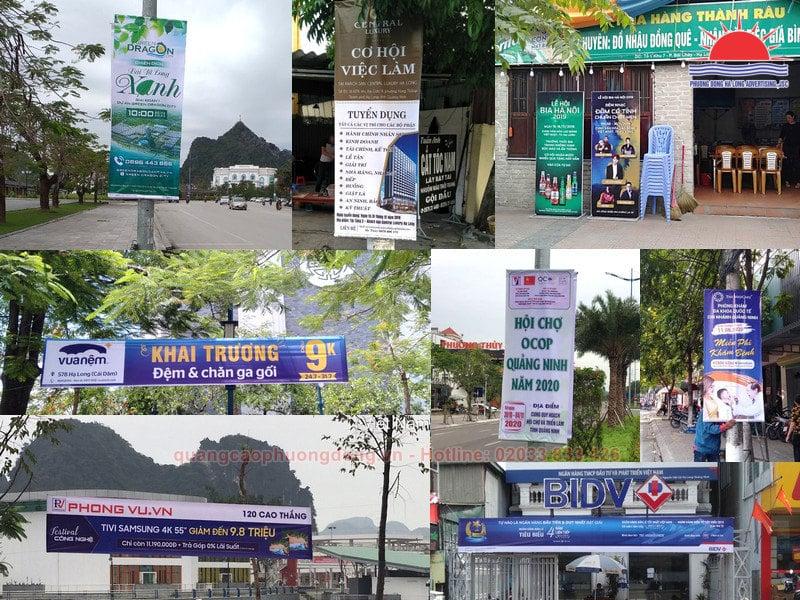 Băng rôn quảng cáo: hình thức marketing cực kì hiệu quả ở Quảng Ninh