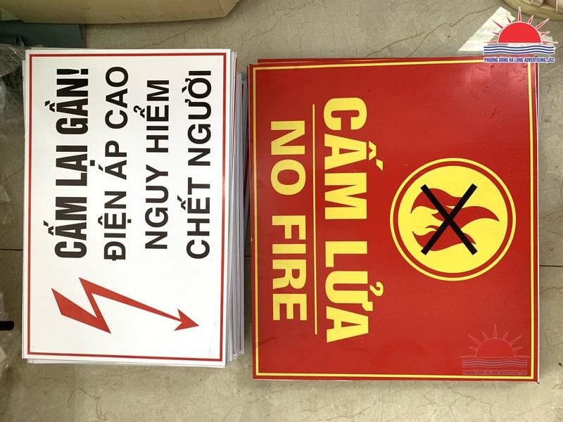 Biển báo an toàn điện