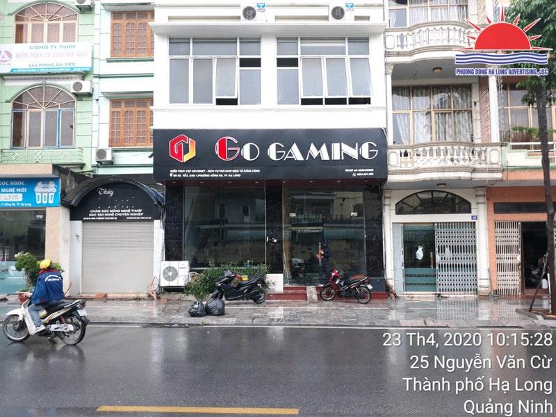 Làm biển quảng cáo quán game tại Quảng Ninh
