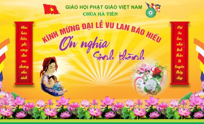 Phông Vu Lan đẹp